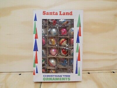 $ CDN59.45 • Buy Vintage Santa Land Christmas Tree Ornaments In Box Poland