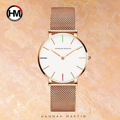 AU21.99 • Buy Women Watch Hannah Watches Japan Movemen Stainless Steel Mesh Waterproof Ladies