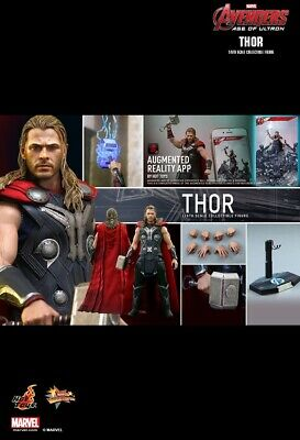 AU470 • Buy Hot Toys 1/6 Marvel Avengers Mms306 Age Of Ultron Thor Action Figure