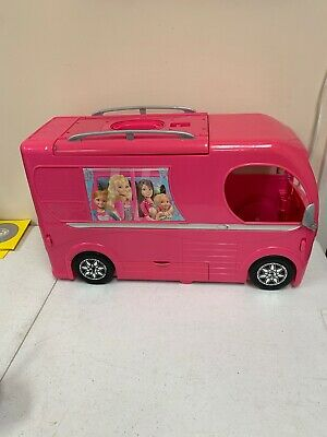 $65 • Buy 2014 Barbie Dream Camper Van RV Motor Home With Swimming Pool Free Shipping GUC