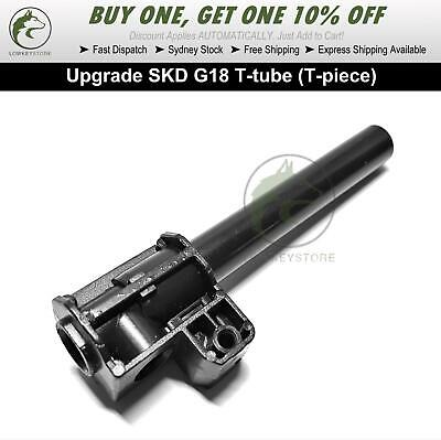 AU17.99 • Buy Upgrade T-tube (T-piece) For SKD G18 Gel Blaster Toy TPC Parts Tpiece Parts
