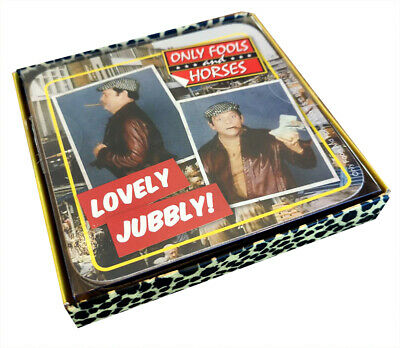 Only Fools And Horses OPENING TITLES Drinks Coaster Set Pack Of 4 OFFICIAL • 7.99£