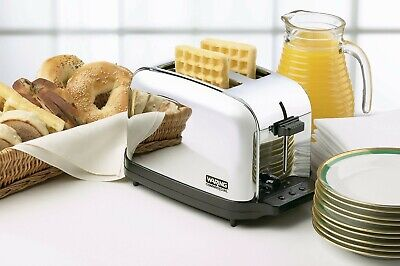 Waring WCT702 2 Slice Commercial Toaster NSF Free Shipping!! • 99$