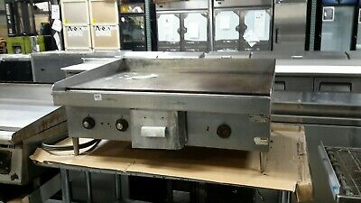 $395 • Buy Used Hobart CG58 36  Electric 208/240V Countertop Griddle
