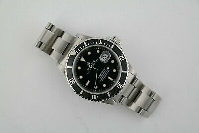 $ CDN10053.57 • Buy Men's Rolex Submariner 16610 Stainless Steel Oyster Band Black Dial Circa 1998