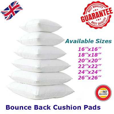 Bounceback Cushion Inners,Pads Fillers Inserts Scatters At Best Price Multi Size • 3.39£