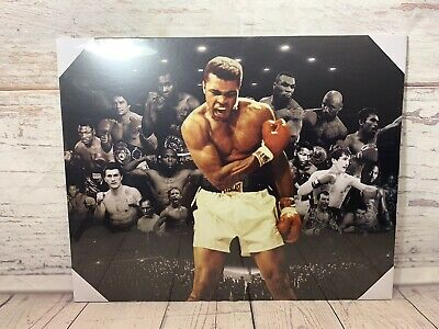 Boxing Legends Mohammed Ali Mike Tyson Mayweather Krays Poster Picture WALL ART • 14.99£