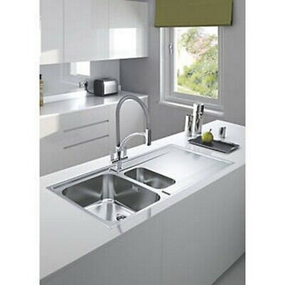 Franke Maris Slim Top Inset Kitchen Sink Stainless Steel 1.5 Bowl 1000 X 510mm  • 159.99£