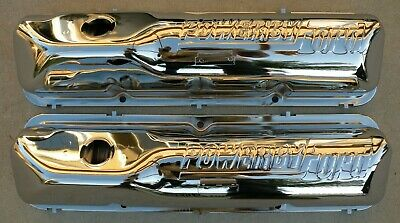 Ford Thunderbird Fe 390 427 428 Chrome Valve Rocker Arm Covers 1958-1969 58-69 • 420$