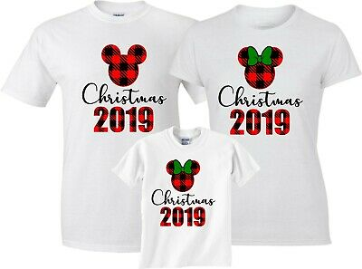$12.99 • Buy Disney Christmas Vacation 2019 Mickey & Minnie Funny Cute Customized T-Shirts