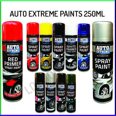 Graffiti Tint 250ml Auto Extreme Aerosol Spray Paint ! Satin Gloss Matt Primer • 5.39£