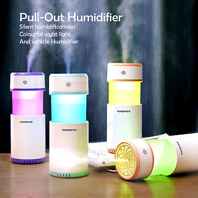 AU26.54 • Buy Ultrasonic Aroma Aromatherapy Air Diffuser Humidifier Essential Oil Mist LED USB