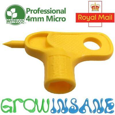 Antelco 4mm Hole Punch Watering Hydroponic Irrigation LDPE 13mm LDPE Supply Pipe • 2.39£