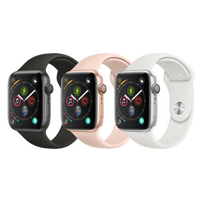 $ CDN384.98 • Buy Apple Watch Series 4 Aluminum | 40mm/44mm | GPS Only | Space Gray/Silver/Gold