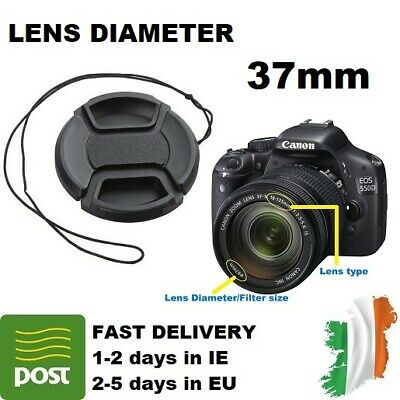 AU3.45 • Buy LENS CAP 37mm For Canon Nikon Sony Olympus Casio Samsung Fujifilm