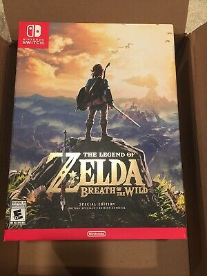 Legend Of Zelda Breath Of The Wild Special Edition (Nintendo Switch) - Brand New • 139.99$