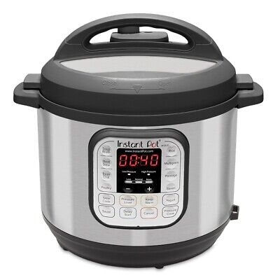 $84.99 • Buy Instant Pot DUO60 6 Qt 7-in-1 Multi-Use Programmable Pressure Cooker