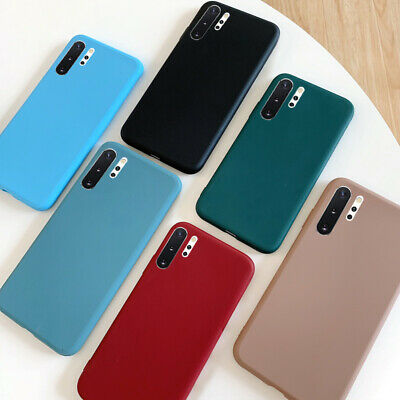 $ CDN3.07 • Buy For Samsung Galaxy S10 S9 S8 Plus A70 A50 Frosted Soft Silicone Matte Case Cover