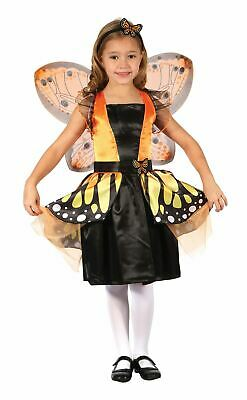 Girls Butterfly Fairy Fancy Dress Costume Insect Bug Animal • 21.99£