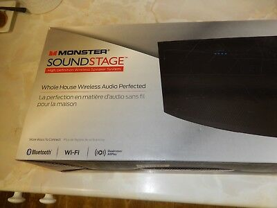 Monster SoundStage S2 Wireless Home Music System, Bluetooth, Medium • 89£