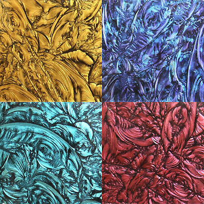 Van Gogh Glass Mosaic Tiles For Arts And Crafts - Mini Piece Various Colours • 3.10£