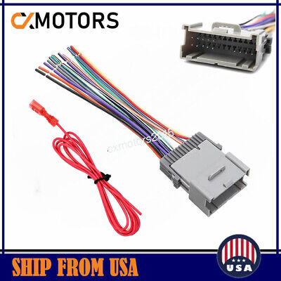$5.99 • Buy Aftermarket Radio Stereo Install Dash Wiring Harness Cable OEM GM Plug Adapter