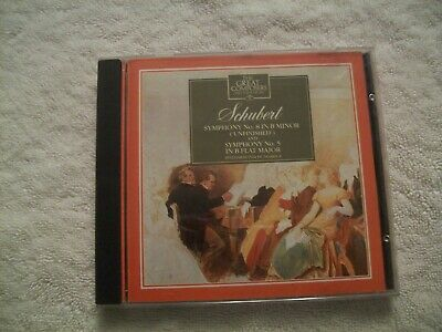 Schubert - Symphony No 8 & Symphony No 5; The Great Composers Collection No. 5 • 2.99£
