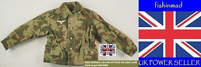 Miniature Ww2 German Officer Soldier Luftwaffe Camo Field Jacket Uniform Blouse • 4.95£