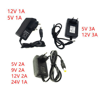 $ CDN3.52 • Buy Power Supply Charger DC 5V 9V 12V 24V 1A 2A 3A Adaptor Swiching For Led Strip