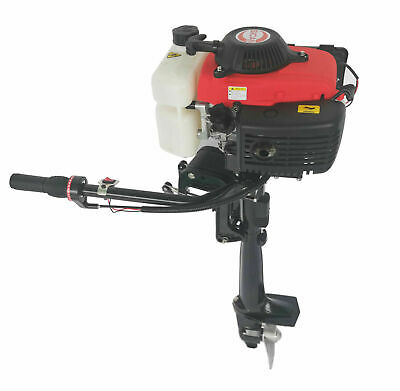 AU479.95 • Buy 4 Stroke 4 HP Heavy Duty Outboard Motor 44CC Boat Engine With Air Cooling System