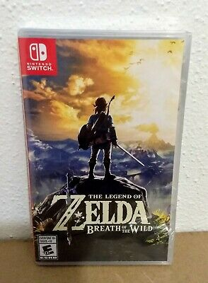 The Legend Of Zelda: Breath Of The Wild - Nintendo Switch Brand New & Sealed! • 49.89$
