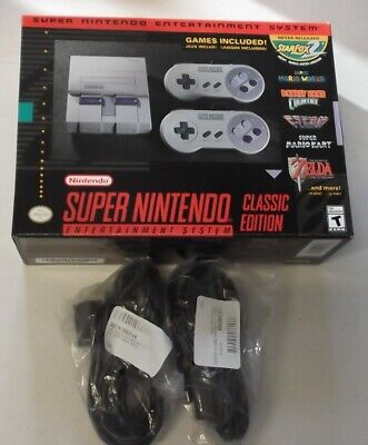 $ CDN197.42 • Buy SNES Classic Edition Authentic W/Extensions New!