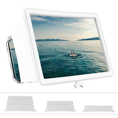 $7.95 • Buy Portable Mobile Cell Phone Video Screen Magnifier 3D HD Amplifier Stand Bracket