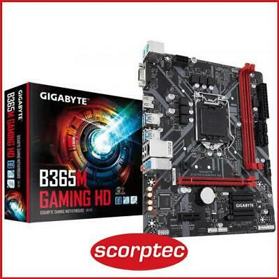 AU147.58 • Buy Gigabyte B365M GAMING HD Motherboard