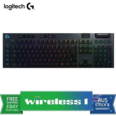 AU329 • Buy Logitech G915 LIGHTSPEED Wireless RGB Mechanical Gaming Keyboard - GL Clicky
