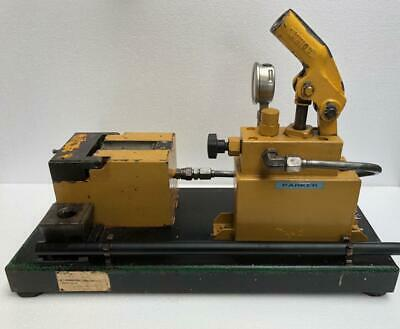 Parker 1015-1-c Hydraulic Flaring Tool/ Machine With 1 Die Set -free Shipping- • 1,499$