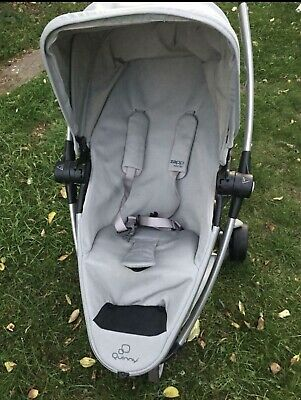 £120 • Buy Quinny Zapp Xtra 2 Single Seat Stroller - Grey Clean And Fresh As Seen