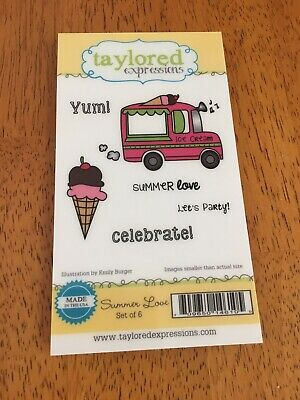 Taylored Expressions - Summer Love Stamp Set • 4.75$