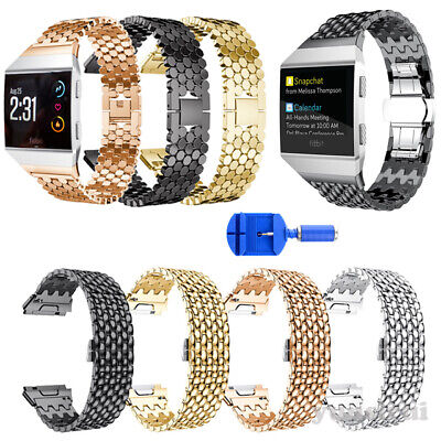 $ CDN2.62 • Buy Hot For Fitbit Ionic Stainless Steel Watch Band Metal Bracelet Strap Replacement