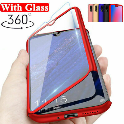 AU4.49 • Buy 360° Full Protect Hybrid Tempered Glass Case For Samsung Galaxy S10 S9 S7 S8 A50