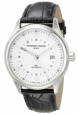 Frederique Constant GMT Men's Automatic Caliber Exhibition 42mm Watch FC-350S5B6 • 769.99$