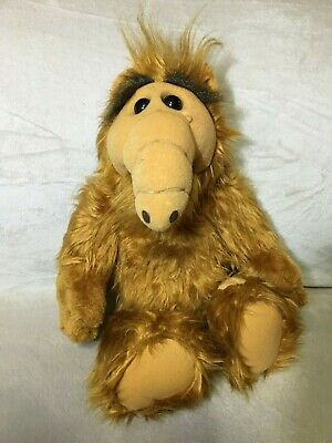 """Vintage ALF 1986 Alien Productions 18"""" Inch Plush Doll Stuffed Animal Coleco • 18.99$"""