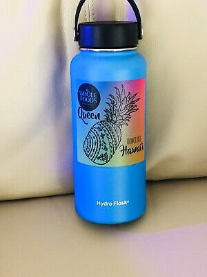 Hydro Flask Whole Foods Market Queen Honolulu HAWAII Limited Edition..32oz..RaRe • 58$