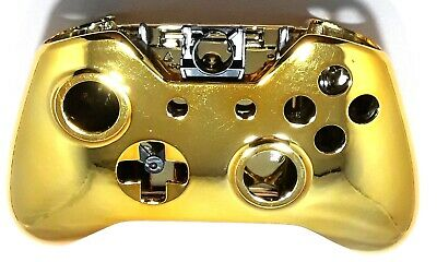 Chrome Gold Controller Shell Compatible With The Xbox One 3.5mm Controller • 11.99$