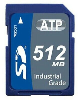 AU100.95 • Buy ATP SD CARD Class-6 Industrial Grade, SLC Nand -40 To +85°C- 512MB Or 1GB