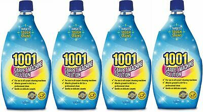 4 X 1001 Carpet Shampoo For 3 In 1 Machines 500ml Each • 10.55£