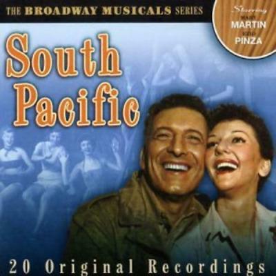 The Broadway Musicals Series: South Pacific - Various Artists (CD) (2003) • 1.61£