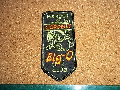 $ CDN19.99 • Buy VINTAGE MEMBER  COTTON CORDELLS BIG O CLUB FISHING LURE PATCH Old Lures Tackle