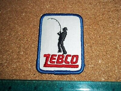 $ CDN19.99 • Buy VINTAGE ZEBCO FISHING TACKLE PATCH Old Lures Rods Reels Fisherman Antique Badges