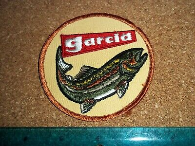 $ CDN19.99 • Buy VINTAGE GARCIA FISHING TACKLE PATCH Old Lures Rods Reels Antique Abu Mitchell